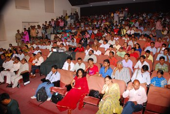 8 Audience engrossed in the inaugural ceremony of iffc 2008