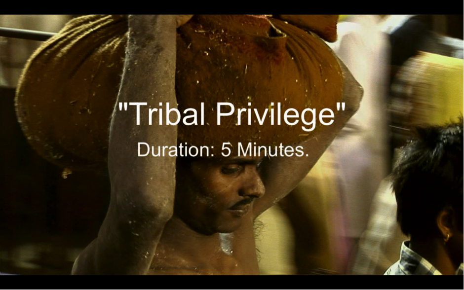 Tribal Privilege